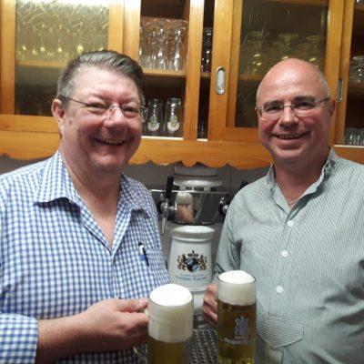 Hans Willberger und Michael Bichler